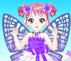 Violet-Butterfly